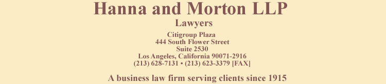 Hanna and Morton, LLC Logo